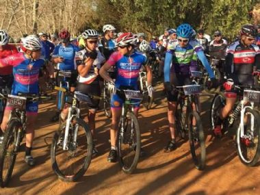 MTB Mountain Bike Race -